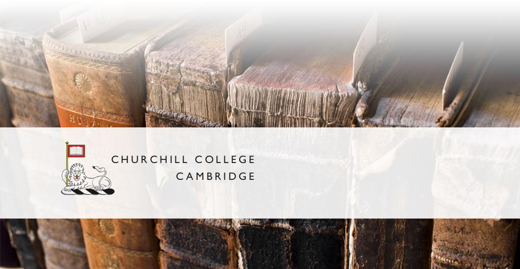 The Churchill Archives - Non-Destructive/Book Scanning Case Study